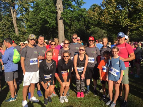Dietitians on Demand participated in the Cameron K. Gallagher Speak Up 5K