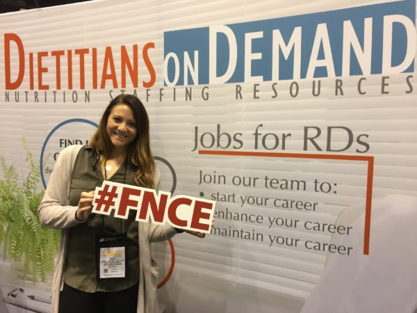 Emily Wetzel at FNCE 2017 in Chicago